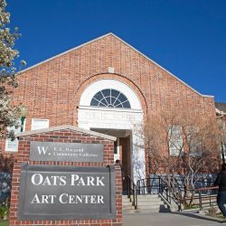 Oats Park Art Center, la modernidad se une a la historia en Nevada.