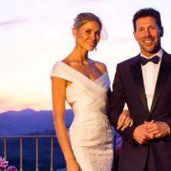 Las nuevas fotos de la boda de Diego Simeone y Carla Pereyra