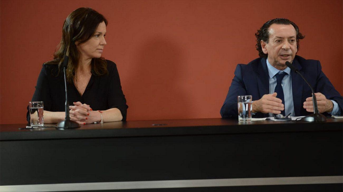 Los ministros de Desarrollo Social y Producción, Carolina Stanley y Dante Sica tratarán de acercar posiciones con la CGT.