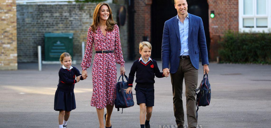El look de Kate Middleton para el primer día de clases de George y Charlotte