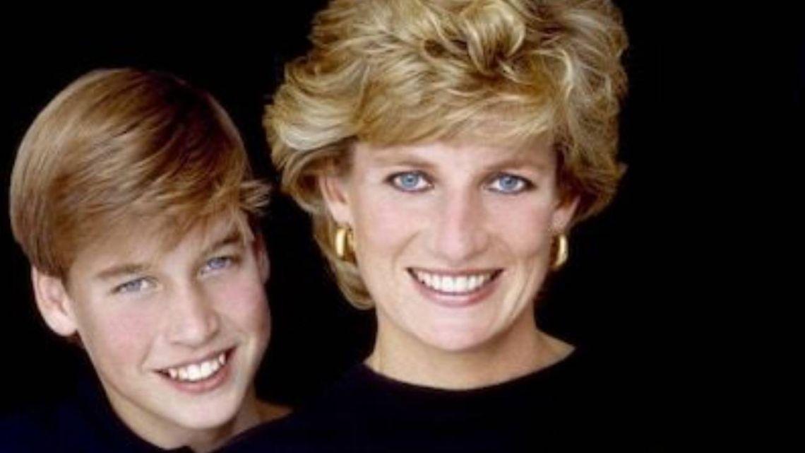 El príncipe William compartió una foto inédita de Lady Di que se hizo viral