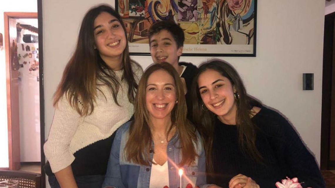 Toda la intimidad del cumpleaños de Maria Eugenia Vidal