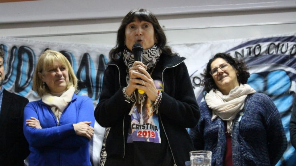 Gisele Fernández, la hermana de Cristina Fernández de Kirchner.