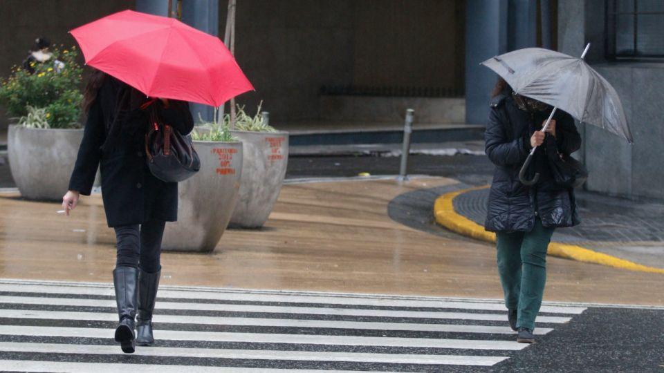 Imagen de archivo | Este lunes 9 de septiembre arrancó con lluvias desde las primeras horas de la mañana.