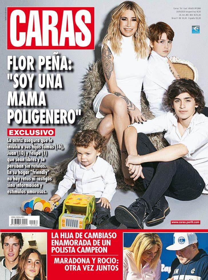 """Flor Peña: """"Soy una mamá poligénero"""""""