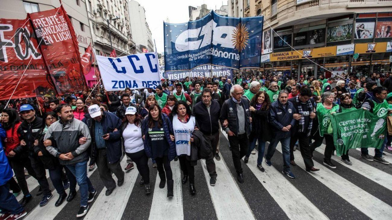 ATE y CTA realizarán un paro nacional por reapertura de paritarias y reincorporación de trabajadores despedidos.