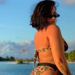 Demi Lovato revolucionó las redes con una foto al natural