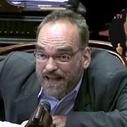 Fernando Iglesias se cruzó con Luli