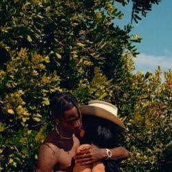 Kylie Jenner y su novio Travis