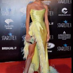Sol Peréz copió a una modelo española y causó polémica por con su vestido