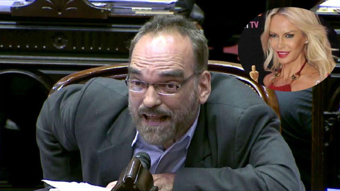 """Fernando Iglesias habló de las """"tarifas populares"""" de Luciana Salazar"""