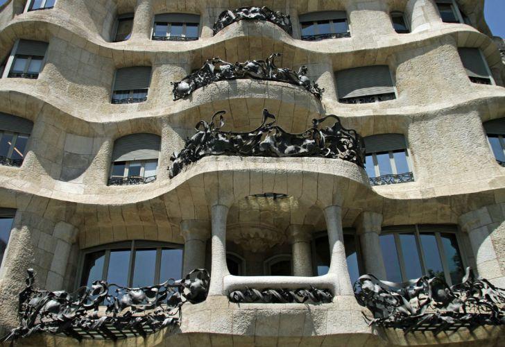 La Pedrera o Casa Milà de Barcelona.