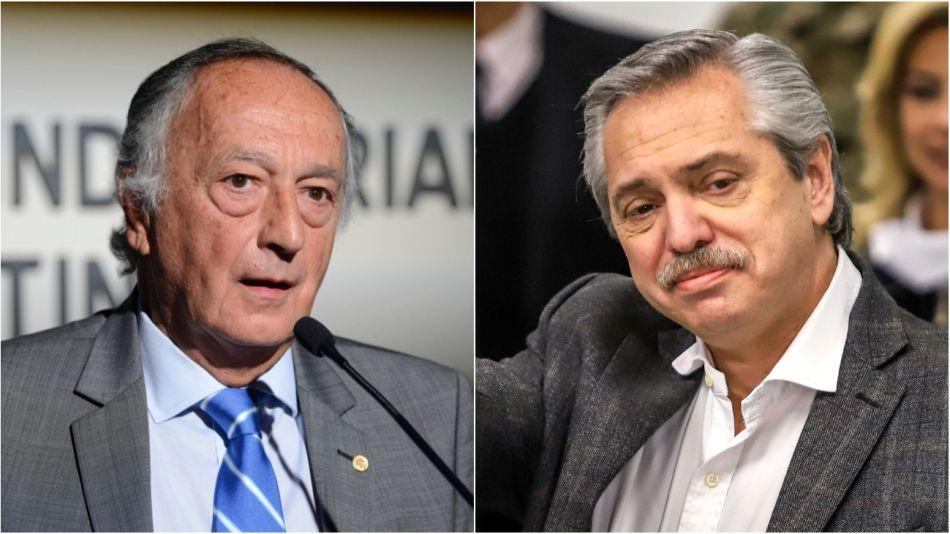Miguel Acevedo y Alberto Fernández.