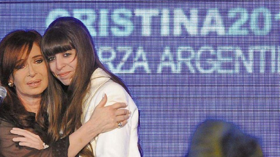 Cristina Kirchner y Florencia Kirchner