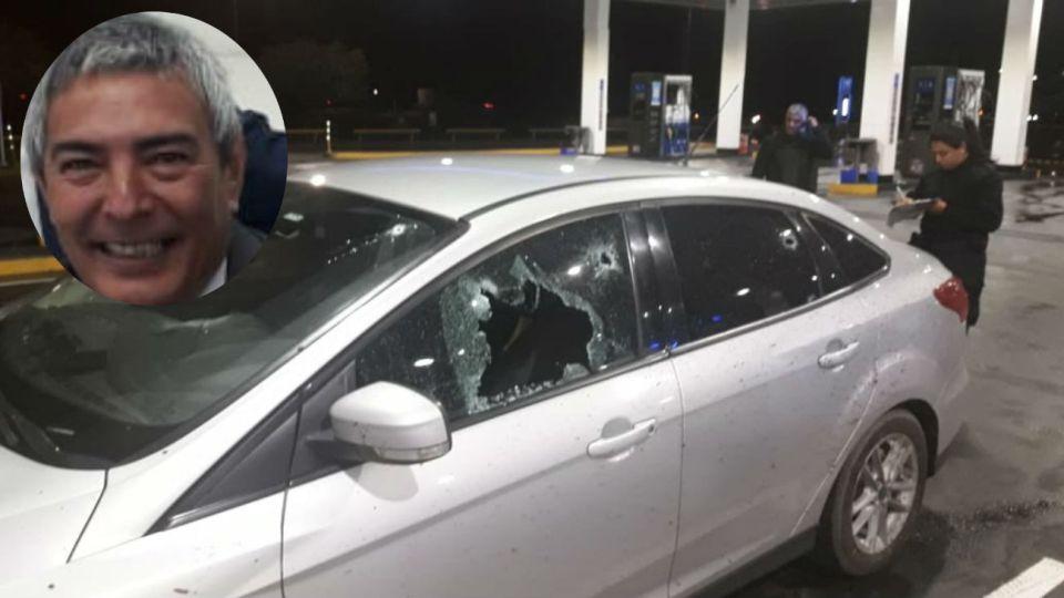 El comisario Mariano Valdés fue baleado en la autopista Buenos Aires-Rosario.