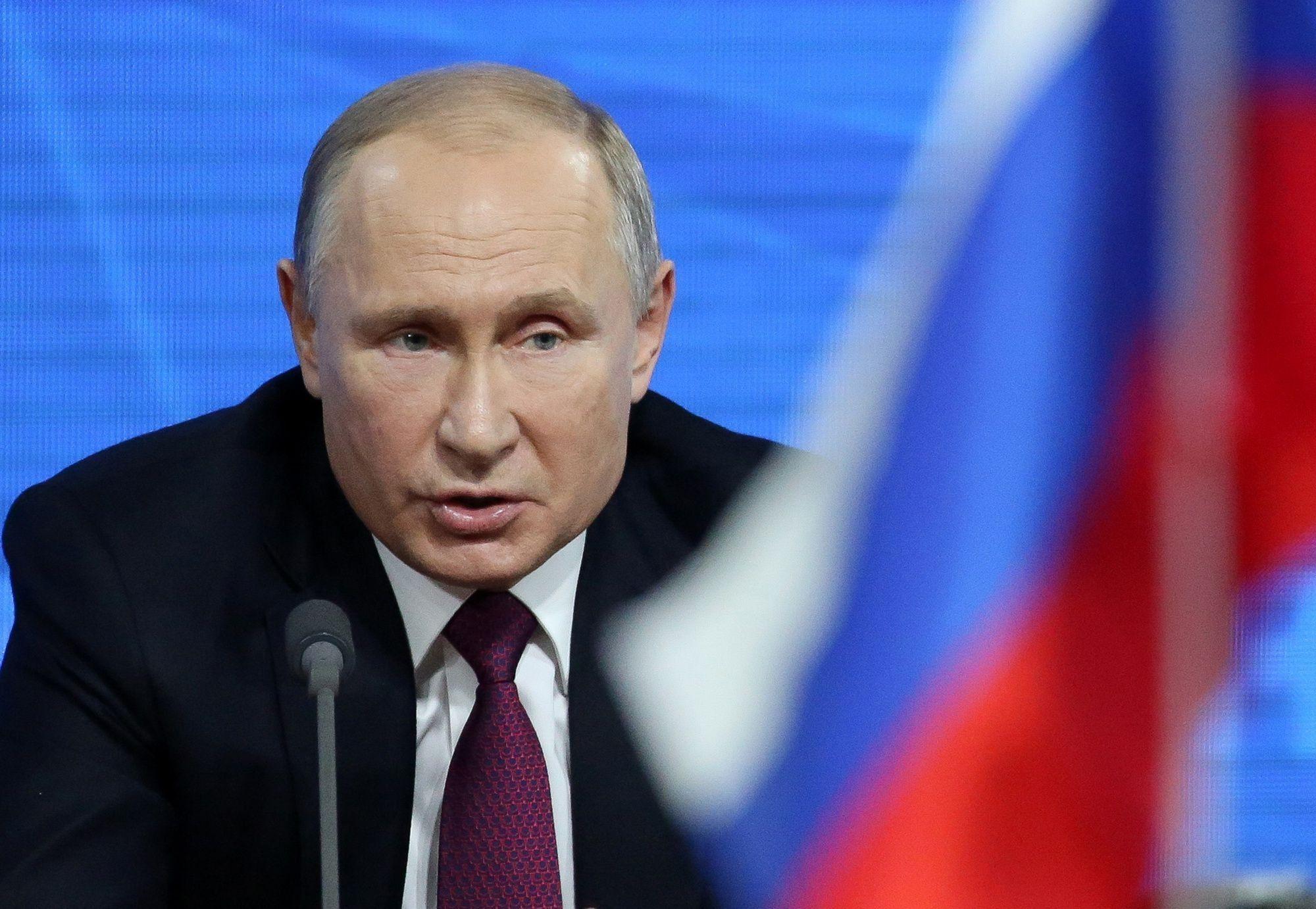 Russia's President Vladimir Putin's Annual News Conference