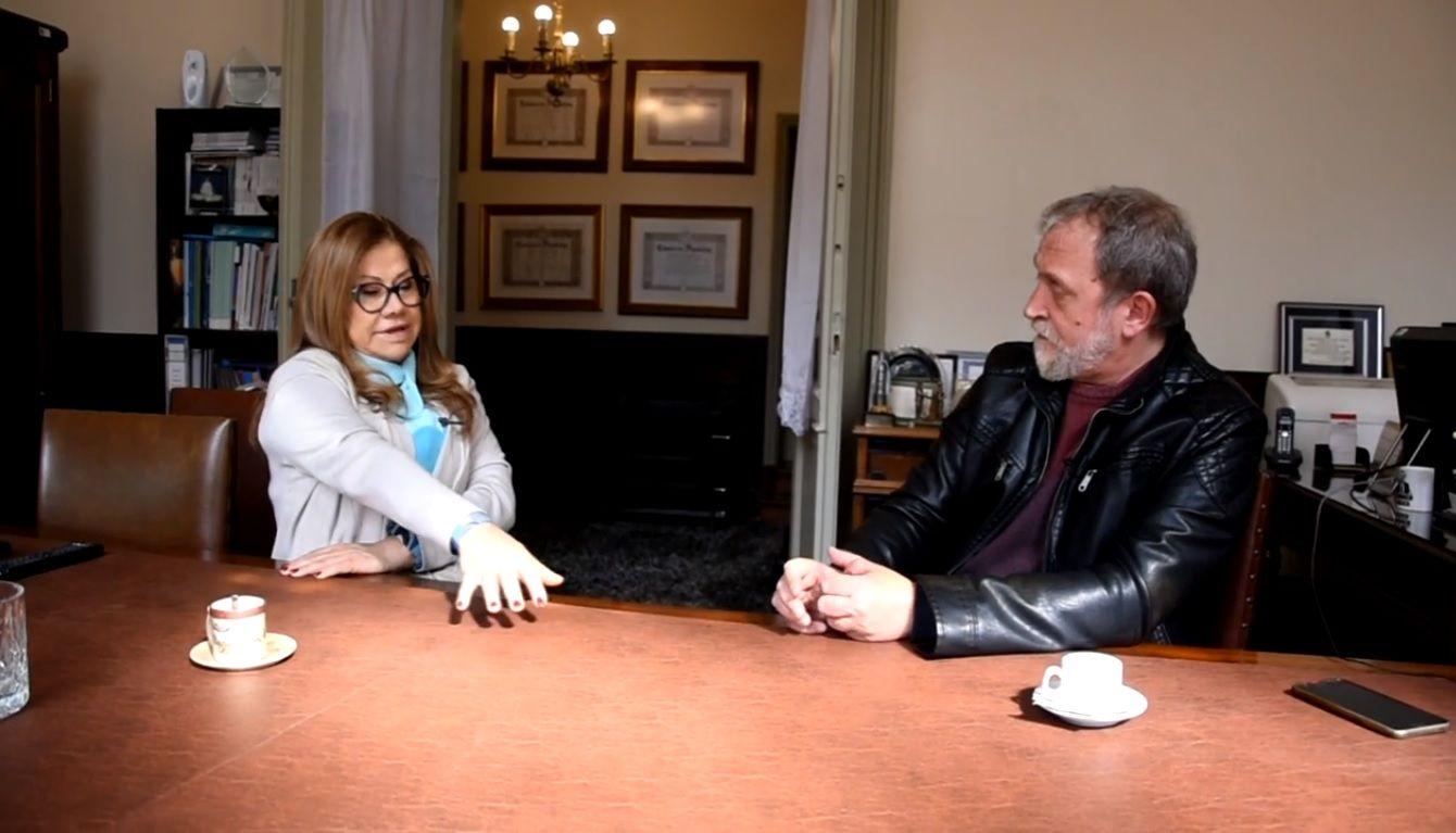 Graciela Camaño fue entrevistada por Edi Zunino.