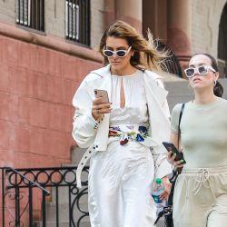 Durante la semana de la moda neoyorquina la calle se convierte en una pasarela