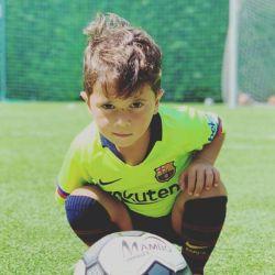 El video de Mateo Messi que muestra su talento desconocido