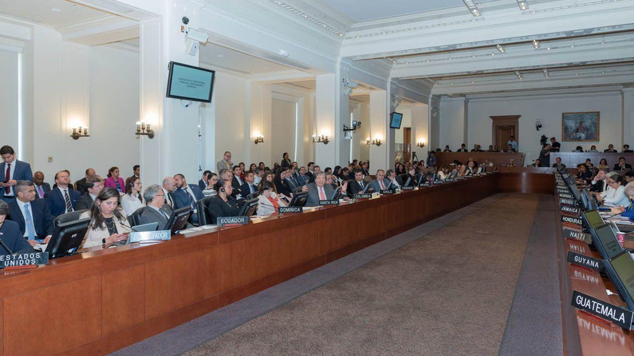 Activan en la OEA el Tratado de Río y no descartan usar la fuerza contra Venezuela