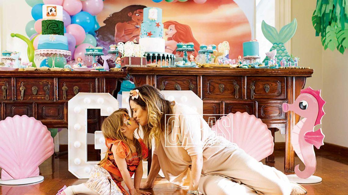 El excéntrico cumpleaños de la hija de María Fernanda Callejón
