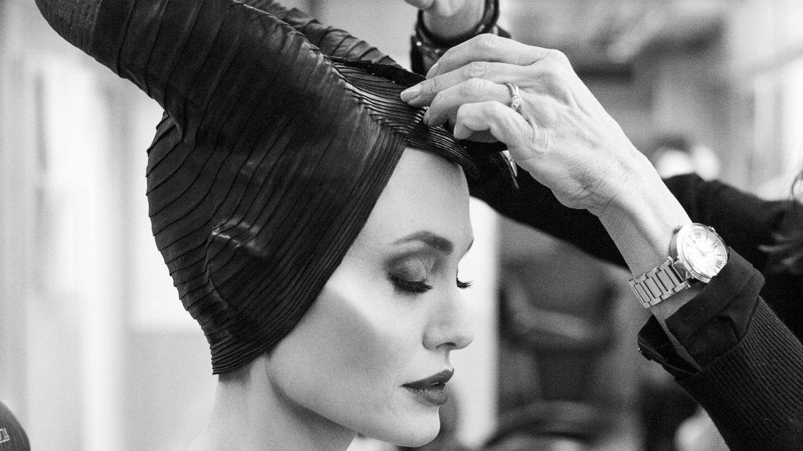 VIDEO | La transformación de Angelina Jolie en Maléfica, paso a paso