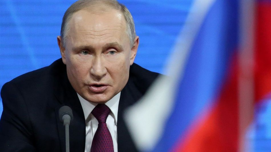 Russia's President Vladimir Putin's Annual News Conference