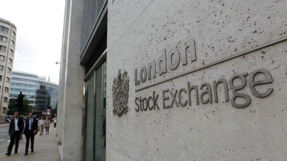 La Bolsa de Londres.