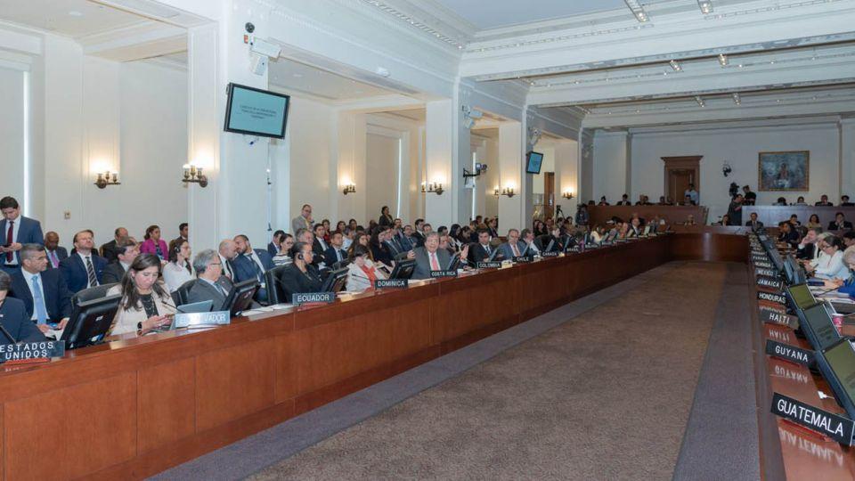 """Con 19 votos a favor, 4 en contra, 6 abstenciones y 5 ausentes, Consejo Permanente de la OEA aprueba resolución """"El respeto a la inmunidad parlamentaria en Venezuela"""""""