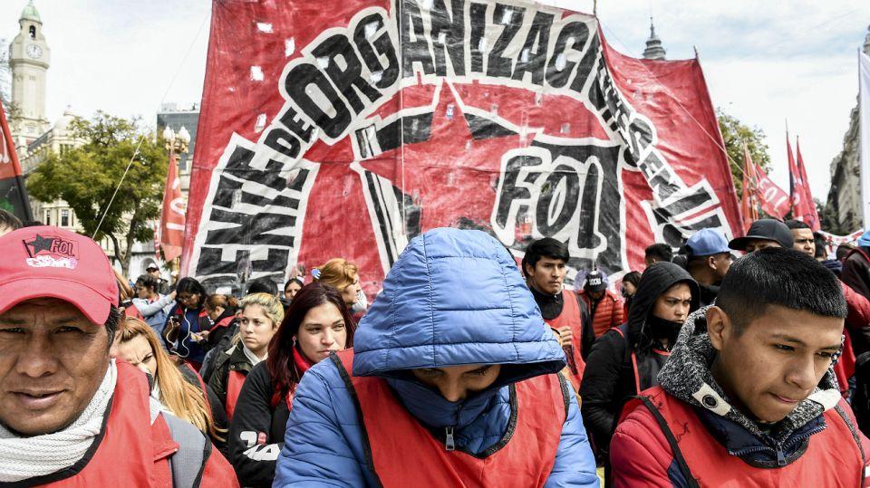 Movimientos sociales reclaman la emergencia alimentaria.