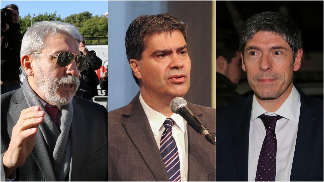 Los tres exjefes de Gabinete kirchneristas, procesados.