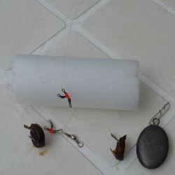Ubicar la línea entre los palos, con tiros muy sutiles (un error significa perder la línea); o pescar con lances fuera de la piedra y los palos.