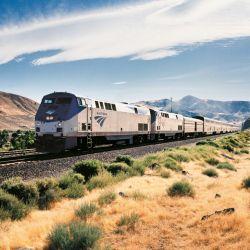 En su recorrido de 3900 km, el tren Zephyr atraviesa Estados Unidos de este a oeste. Foto: Amtrak/dpa-tmn.