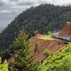 El tren Zephyr viaja a diario entre Chicago y Emeryville, en la bahía de San Francisco, cruzando tres cuartas partes del continente americano. Foto: Mike Danneman/Amtrak/dpa-tmn.