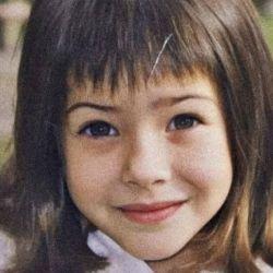 Eugenia Suárez de niña