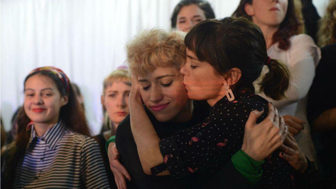 Actrices Argentina hace una fuerte denuncia por acoso sexual