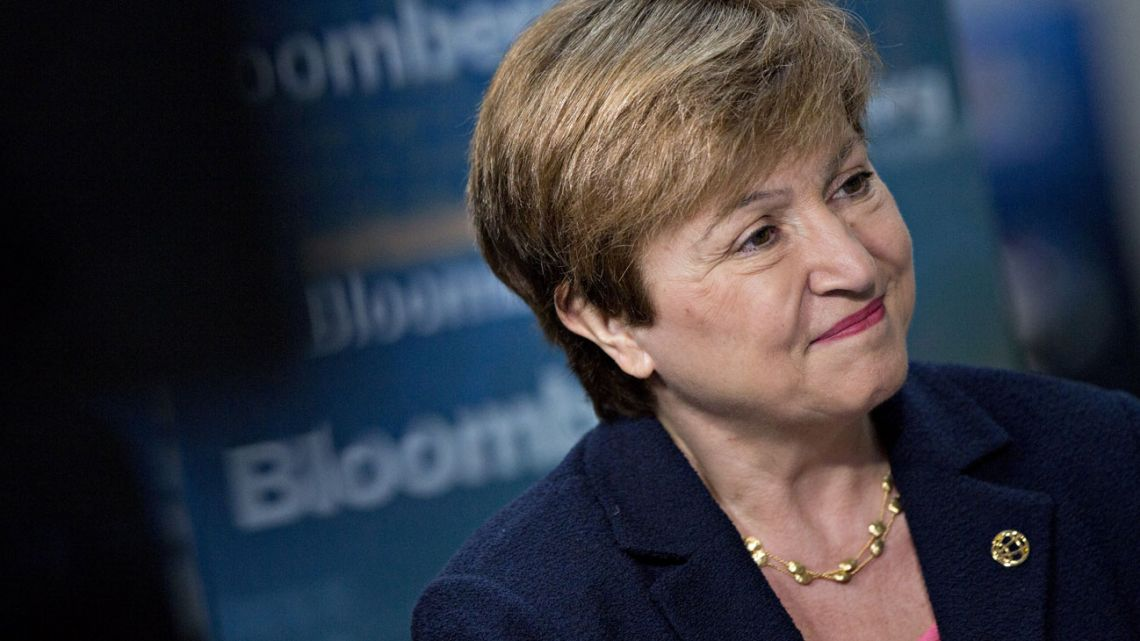 Incoming IMF chief Kristalina Georgieva, who hails from Bulgaria.