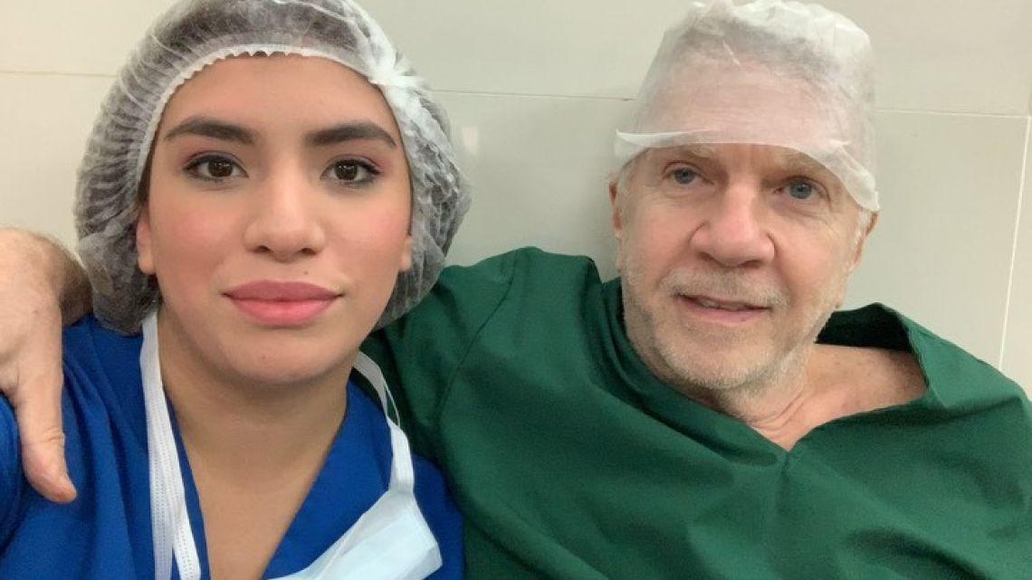 La hija mayor de Beatriz Salomón opera junto a su padre, Alberto Ferriols