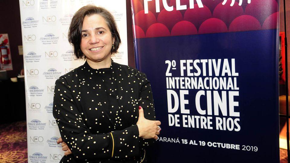 Presentacion del Festival de Cine de Entre Rios, en la Ciudad de Parana.