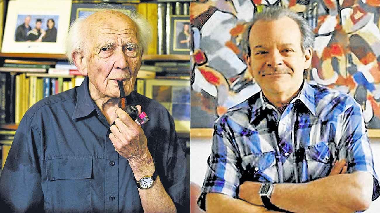 Ellos. Zigmunt Bauman y Gustavo Dessal, autores de El retorno del péndulo.