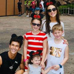 El álbum de las vacaciones familiares de Mariano Martínez en Disney