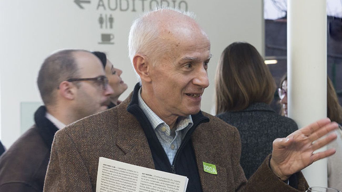 Hugo Beccacece miembro de laAcademia Argentina de Letras