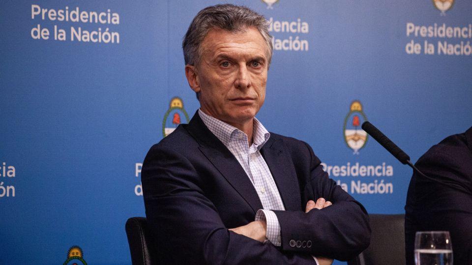 President Macri Holds Press Conference After Landslide Primary Defeat