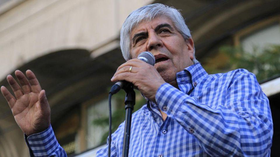 Hugo Moyano.