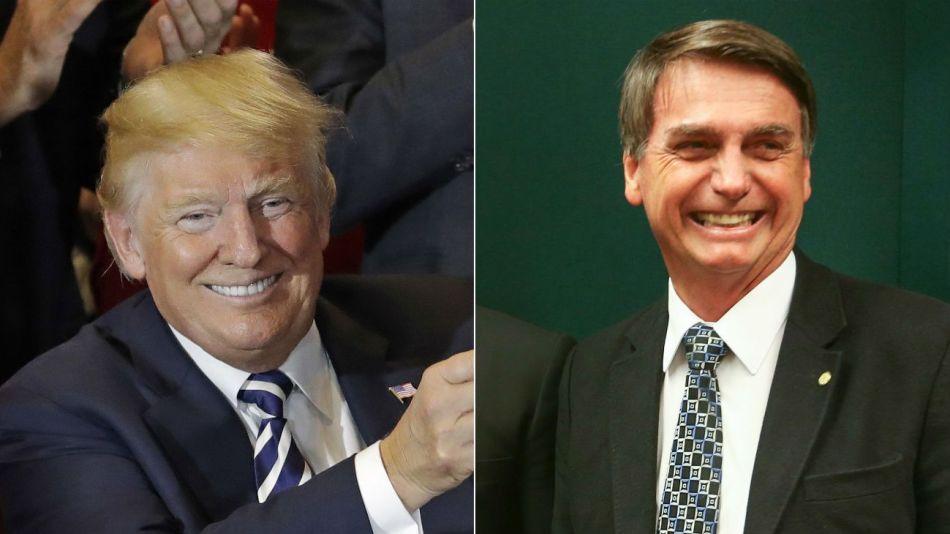 donald trump jair bolsonaro 20190914