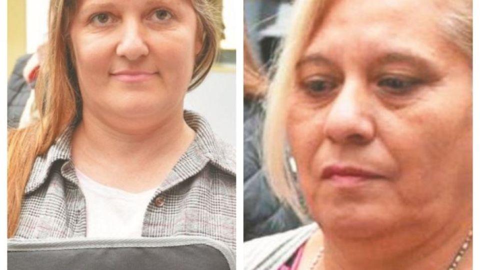 INGRESANTES. Mariela Marzano y Norma Avellaneda son dos internas de Bouwer que aprobaron el ingreso a Abogacía.