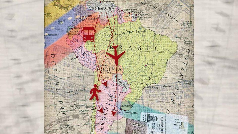 Miles de venezolanos llegaron a la Argentina, empujados por la crisis humanitaria.