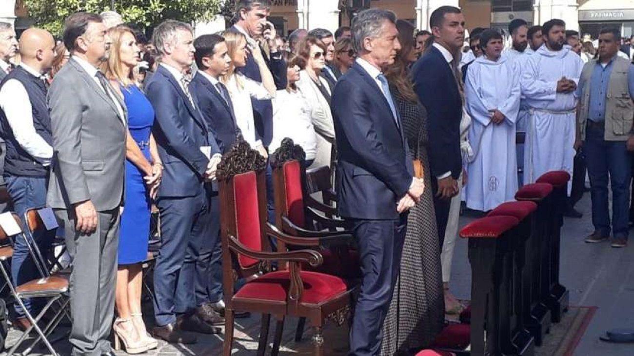 Macri, de visita en Salta.
