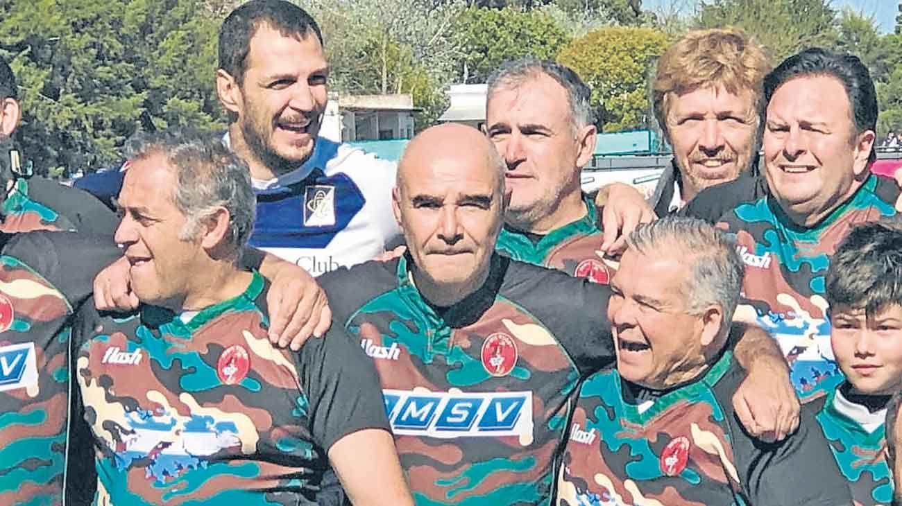 Malvinas. Gómez Centurión participó en un partido-homenaje.
