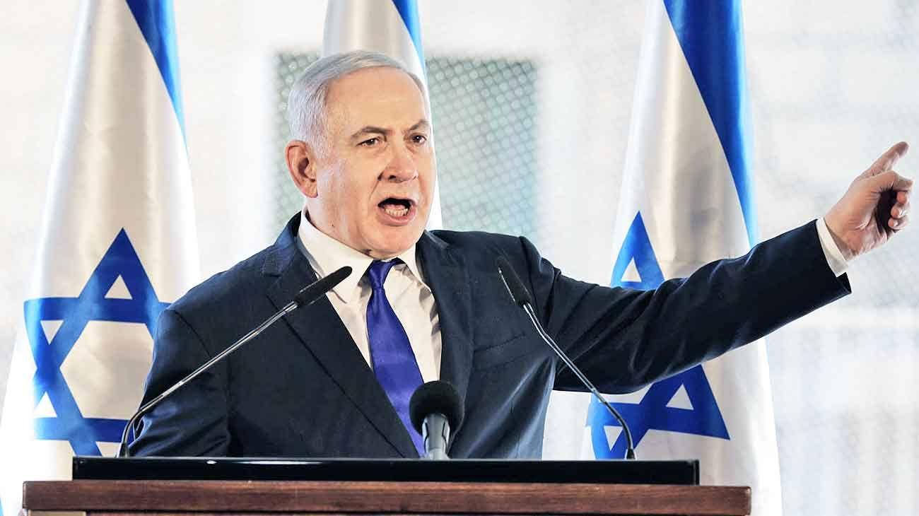 Duro. En busca de su quinto mandato, Netanyahu prometió anexar el Valle de Jordán si su partido Likud gana el martes.